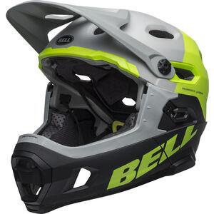 Bell Super DH MIPS Helmet matte/gloss dark gray/bright green/black matte/gloss dark gray/bright green/black