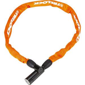 Trelock BC 115 Kettenschloss 60 cm orange