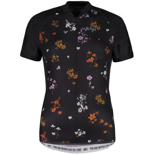 Maloja ViagravaM. AOP Shortsleeve Bike Jersey Damen moonless mountain meadow moonless mountain meadow