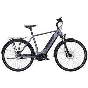e-bike manufaktur 8CHT Trapez 48er Revolution Disc Gates dunkelsilber matt dunkelsilber matt