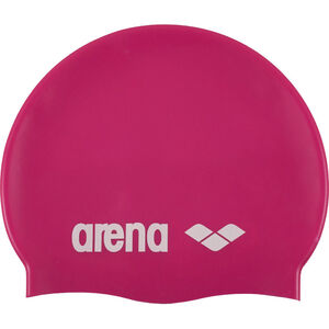 arena Classic Silicone Cap fuchsia-white fuchsia-white