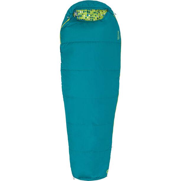 Marmot Nanowave 40 Sleeping Bag regular Kinder malachite