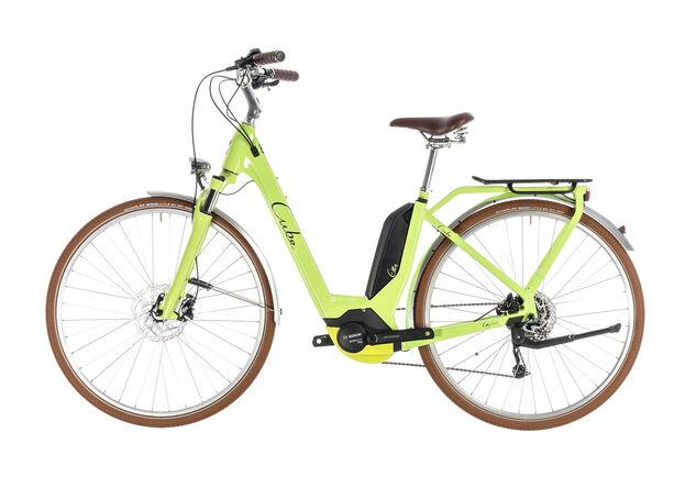 Cube Elly Ride Hybrid 400 Easy Entry Damen green