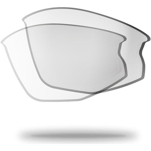 Bliz Hybrid Ersatzgläser für schmale Gesichter clear