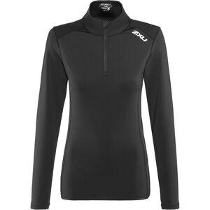 2XU XVENT 1/4 Zip Longsleeve Shirt Women black/black bei fahrrad.de Online