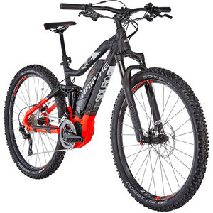 HAIBIKE SDURO FullNine 10.0 Schwarz/Rot/Silber matt bei fahrrad.de Online