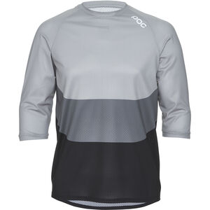 POC Essential Enduro 3/4 Light Jersey Herren francium multi grey