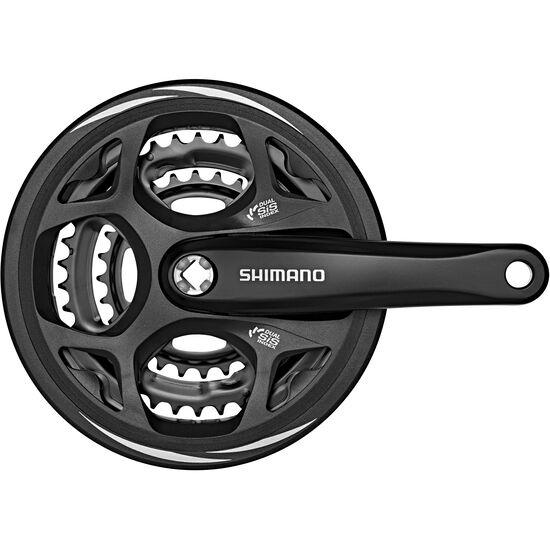 Shimano Altus FC-M311 Kurbelgarnitur 48/38/28 bei fahrrad.de Online