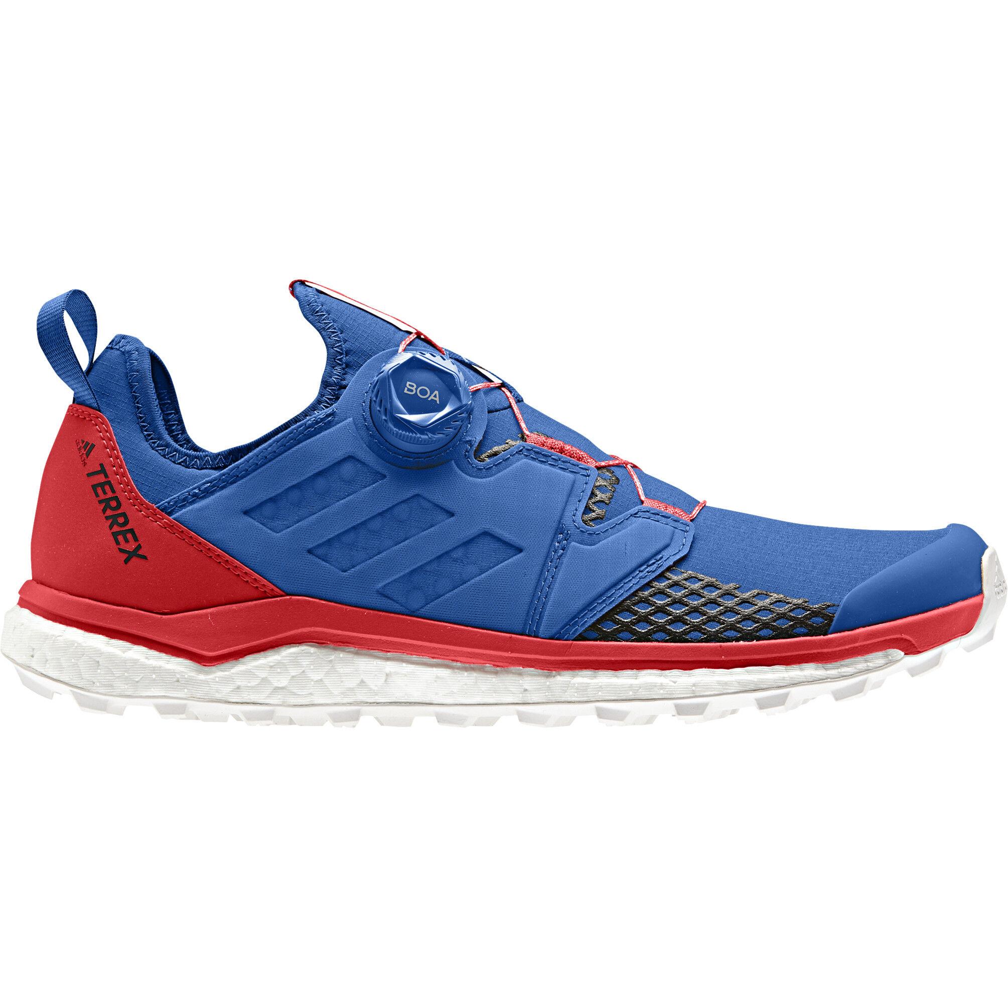 adidas TERREX Agravic Boa Shoes Herren blue beautycore blackactive red