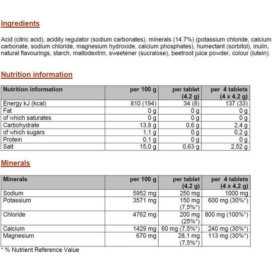 PowerBar 5 Electrolytes Tube Black Currant 10 Tabs bei fahrrad.de Online
