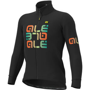 Alé Cycling Solid Mirror DWR Jacke Herren black black