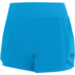 GORE WEAR R7 2in1 Shorts Damen dynamic cyan dynamic cyan