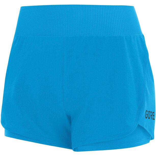 GORE WEAR R7 2in1 Shorts Damen dynamic cyan