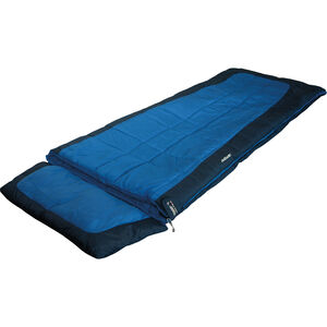 High Peak Camper Sleeping Bag blau/dunkelblau blau/dunkelblau