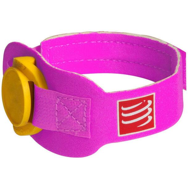 Compressport Timing Chipband pink