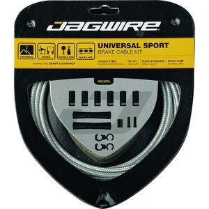 Jagwire Sport Universal Bremszugset für Shimano/SRAM sterling silber sterling silber