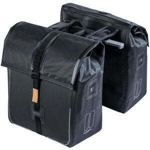 Basil Urban Dry Doppelpacktasche MIK 50l solid black solid black