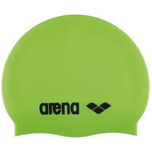 arena Classic Silicone Swimming Cap Juniors acid lime-black bei fahrrad.de Online