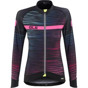 Alé Cycling Graphics PRR The End LS Jersey Damen black-multicolor-fluo-pink black-multicolor-fluo-pink
