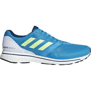 adidas Adizero Adios 4 Shoes Men shock cyan/hi-res yellow/legend marine bei fahrrad.de Online
