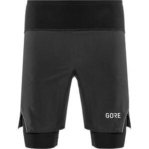 GORE WEAR R7 2in1 Shorts Herren black black