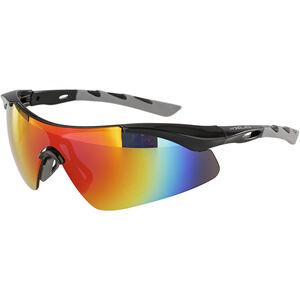 XLC Komodo SG-C09 Brille schwarz-grau/grau verspiegelt schwarz-grau/grau verspiegelt