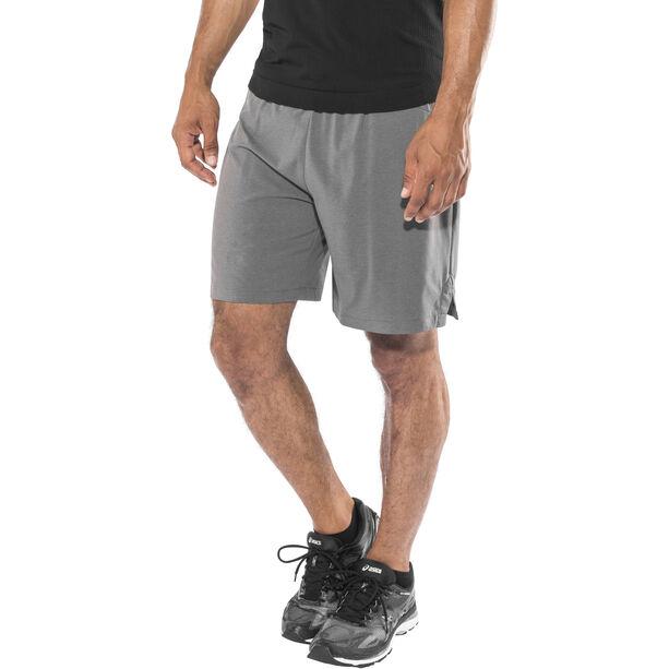 asics 2-N-1 7In Shorts Herren dark grey heather dark grey heather