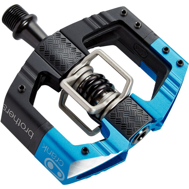 Crankbrothers Mallet E Enduro Pedals black/electric blue