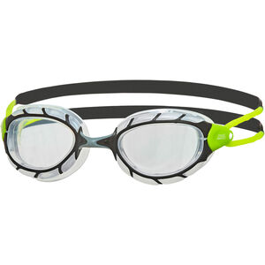 Zoggs Predator Goggles black/lime/clear black/lime/clear