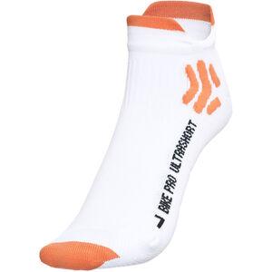 X-Socks Bike Pro Ultrashort Socks Men White/Orange bei fahrrad.de Online