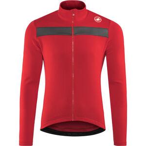 Castelli Puro 3 Full-Zip Jersey Herren red red