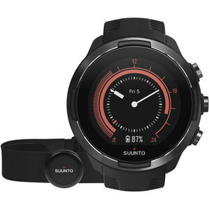 Suunto 9 GPS Mulitsport Watch with HR Belt Baro Black bei fahrrad.de Online