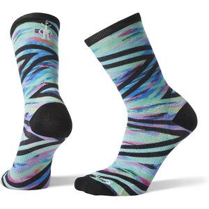 Smartwool PhD Run Ultra Light Print Crew Socks Damen capri capri