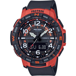 CASIO PRO TREK PRT-B50-4ER Watch Men black/red black/red