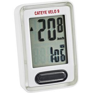 CatEye Velo 9 CC-VL820 Fahrradcomputer weiß weiß