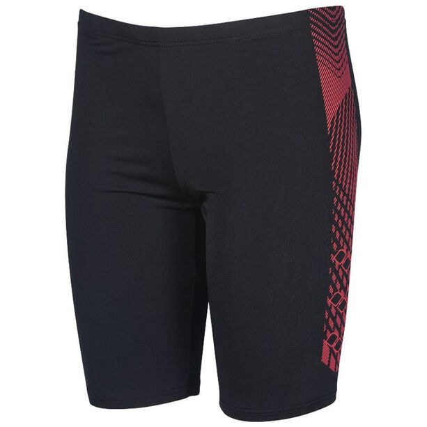 arena Feather Jammers Jungen black /fluo red