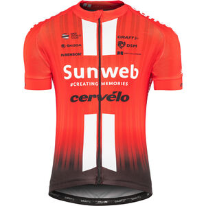 Craft Team Sunweb Replica SS Jersey Herren sunweb red sunweb red