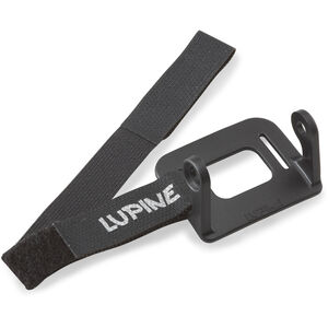 Lupine Helmhalter für Piko / Neo schwarz schwarz