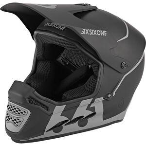 SixSixOne Reset Fullface Helm midnight black midnight black
