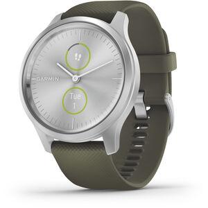 Garmin Vivomove Style Smartwatch silver/moss green silver/moss green