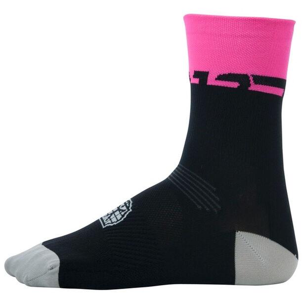 Bioracer Summer Socken schwarz/pink