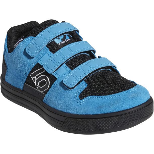 adidas Five Ten Freerider VCS Shoes Kinder core black/ftwr white/shock cyan