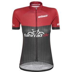 fahrrad.de Pro Race Jersey Damen black-red black-red