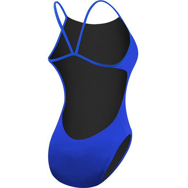 TYR Solid Cutoutfit Bathing Suit Damen royal