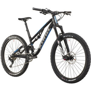 Kona Process Deluxe 134A matt black/gloss silver/blue matt black/gloss silver/blue