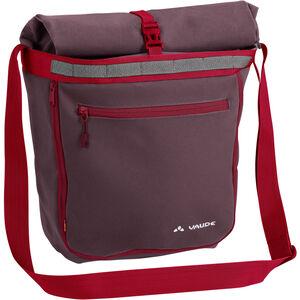 VAUDE ShopAir Back Bag raisin raisin