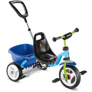 Puky CAT 1S Dreirad blau/kiwi bei fahrrad.de Online