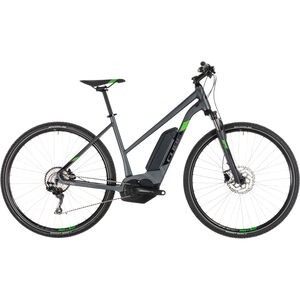 Cube Cross Hybrid Pro 500 Trapez Iridium'n'Green bei fahrrad.de Online