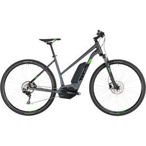 Cube Cross Hybrid Pro 400 Trapez Iridium'n'Green bei fahrrad.de Online