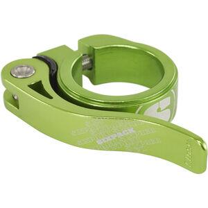 Sixpack Menace Sattelklemme 31,8mm electric-green bei fahrrad.de Online
